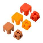 ミヨシ ケーブルホルダー キューブタイプミニ  ピンク/オレンジ/ブラウン CM-CHCS/AS2【3個セット】の詳細ページへ