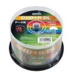 時期研究所 HIDISC DVD+R DLデ‐タ用メディア レーベル ワイドタイプ プリンタブル白50枚スピンドル HDD+R85HP50 【12個セット】の詳細ページへ