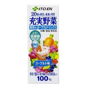 伊藤園 充実野菜 野菜&ヨーグルトミックス 200ml