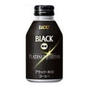 UCC BLACK無糖プラチナアロマ 300g 48本セット