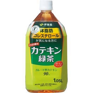 【特定保健用食品】伊藤園 カテキン緑茶 1.05L 24本セット