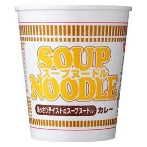 日清食品スープヌードル カレー 40個セット