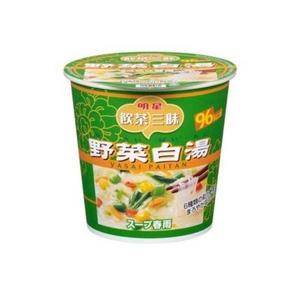 明星食品 飲茶三昧 スープ春雨 野菜白湯 27g 24個セット