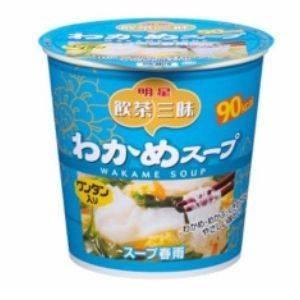 明星食品 飲茶三昧 スープ春雨 わかめスープ 26g 24個セット