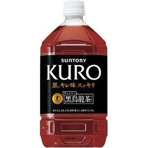 SUNTORY(サントリー) 黒烏龍茶 1リットル 24本セット 【特定保健用食品(トクホ)】