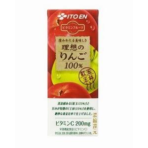 伊藤園 ビタミンフルーツ 理想のりんご 200ml 48本セット