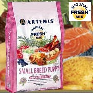 アーテミス・フレッシュミックス スモールブリード・パピー1kg 離乳期〜12ヶ月(小型犬用)