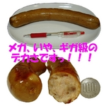 奥美濃古地鶏フランクフルト&森永乳業 MOW 限定セット