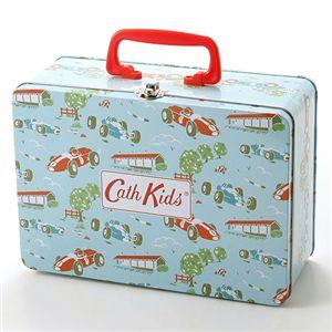 01キャスキッドソン/Cath Kidston 缶ボックス入り テーブルウェア/レーシングカー