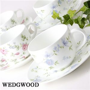 WEDGWOOD(ウェッジウッド) ティーカップ&ソーサー 2客組 ジャスミン