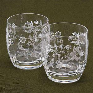 Minton(ミントン) クリスタル グラス 2客セット オールドファッション
