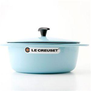 Le Creuset(ル・クルーゼ) センセーション ココットオーバル 25cm サテンブルー