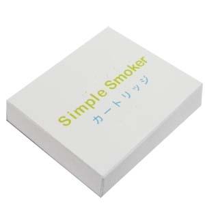 電子タバコ「Simple Smoker(シンプルスモーカー)」 カートリッジ 5種の味
