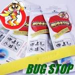 害虫忌避ブレス BUG STOP(バグストップ) 12枚セット