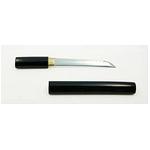 【模造刀】 黒鞘 短刀 6寸