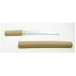 【模造刀】 白鞘 短刀 9寸