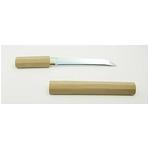 【模造刀】 白鞘 短刀 6寸