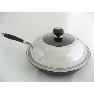 軽量鉄鋳物炒め鍋(SUS蓋付) FE宣言 28cm 1個