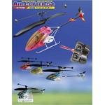 ミニサイズ 室内専用ヘリコプターラジコン レッド(5機セット)全長170mmの詳細ページへ