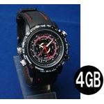 ビデオレコーダー付きウォッチ(腕時計型ビデオカメラ)4GB