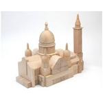 組木 モンマルトル サクレ・クール寺院