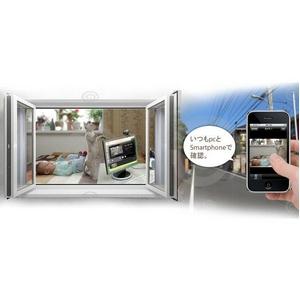 スマートフォン対応遠隔監視システム