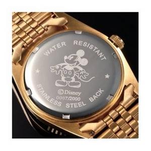 パイカットミッキー1アイグリッツ 腕時計【レディース ピンクゴールド】