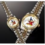 ミッキーダイヤモンドファンタジア 腕時計【レディース ホワイト】