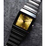 ペレバレンチノ ダイヤモンドミラノ腕時計 ゴールド レディース
