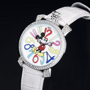 ミッキー ファンタジーカラー腕時計 ホワイト