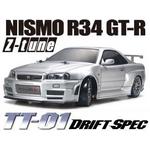 58419 タミヤ TT-01D NISMO R34 GT-R Z-tune ドリフトスペック