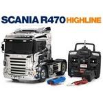 タミヤ 56320 スカニア R470ハイライン メタリックスペシャル フルオペレーション