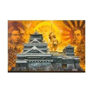 1/144 神瞰 熊本城【大天守・小天守】