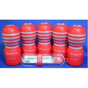 TENGA  5本セット ディープスロートカップ