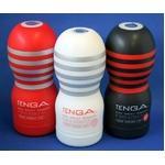 TENGA  ディープスロート・カップ 3種セット 特殊な構造が生み出す、DEEPな吸いつき感。
