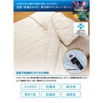 接触冷感ひんやりタッチ + アウトラスト(R)使用 快適快眠クール敷パッド ダブル ベージュ
