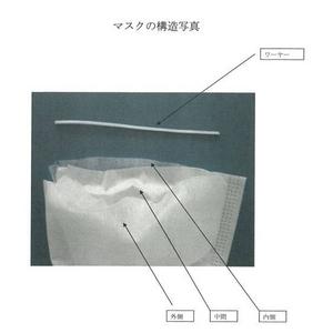 【BFE99】3層不織布サージカルマスク(ホワイト)