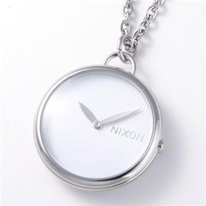 NIXON(ニクソン) 「Spree Pendant」 ユニセックスペンダントウォッチ A728 ホワイト