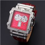 Dolce Medio(ドルチェ・メディオ) DM8018QZRDRD レッド×シルバー&レッド 腕時計
