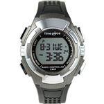 Time Piece(タイムピース) 腕時計 電波時計 ソーラー(デュアルパワー) デジタル ガンメタ TPW-002GMの詳細ページへ