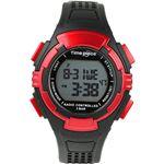 Time Piece(タイムピース) 腕時計 電波時計 ソーラー(デュアルパワー) デジタル レッド TPW-002RDの詳細ページへ