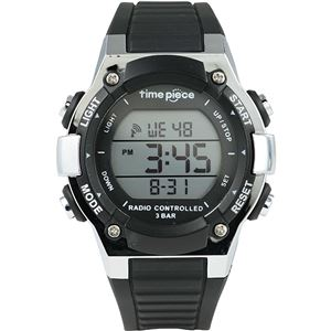 Time Piece(タイムピース) 腕時計 電波時計 デジタル ブラック TPW-003BK