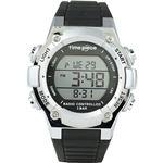 Time Piece(タイムピース) 腕時計 電波時計 デジタル シルバー TPW-003SV