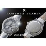 ROBERTA SCARPA レザーウォッチ RS6043 シルバー(ピース)