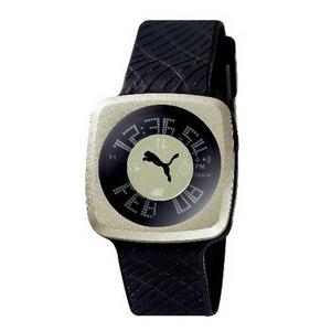 PUMA(プーマ) 腕時計 BLOCKBUSTER(ブロックバスター) gents シャンパン×ブラック BB5