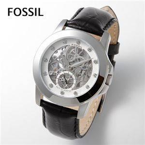 FOSSIL(フォッシル) オートマスケルトンバック ベルトウォッチ ME3008