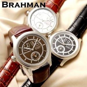 BRAHMAN(ブラフマン) オートマ レトログラード レザーウォッチ