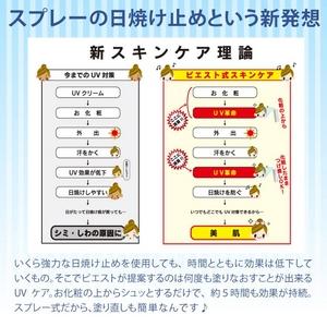 UV革命 日焼け止め美容液 3本セット   【送料無料】
