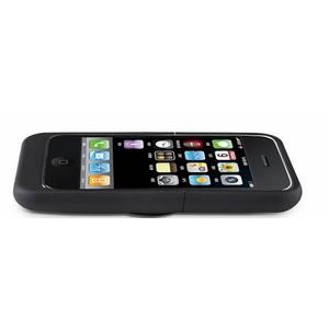 ワイヤレス充電パッド GET POWER PAD(ゲットパワーパッド) iPhone3G/3GS専用レシーバー マットブラック