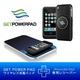 ワイヤレス充電器「GETPOWERPAD™3(ゲットパワーパッド3)」 スターターキット iPhone3G(S)専用レシーバーセット(マットブラック)